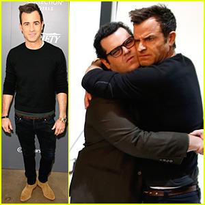 Justin Theroux & Josh Gad Build Their Bromance at Variety Studio