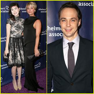 Kaley Cuoco, Sister Briana, & 'Big Bang Theory' Cast Help Benefit Alzheimer's Association at A Night At Sardi's 2015!