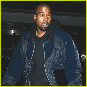 Kanye West Steps Out Amid New Album Buzz