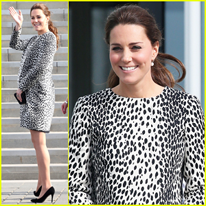 Kate Middleton Flaunts Growing Baby Bump at Turner Contemporary Art Gallery Visit!
