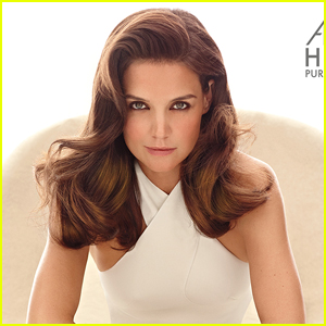 Katie Holmes Looks Glamorous & Hot in Second Alterna Haircare Campaign