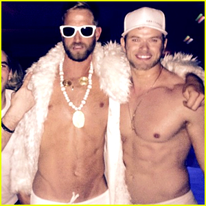 Kellan Lutz Goes Shirtless for His Dirty 30 Birthday Party!