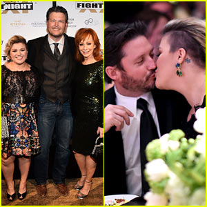 Kelly clarkson her hubby like to kiss not fight for How many kids does reba mcentire have
