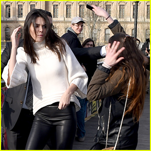 Kendall Jenner Attacked By Overzealous Fan in Paris (Photos)