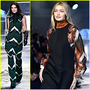 Kendall Jenner & Gigi Hadid Rock Bold Outfits at H&M Fashion Shows