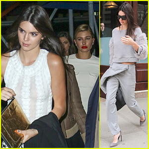 Kendall Jenner & Hailey Baldwin Party Night Away on Yacht