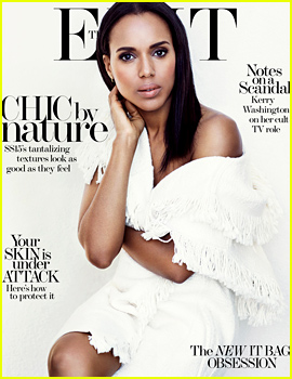 Kerry Washington Tweeted While in Labor for a Very Specific Reason!