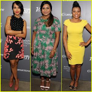 Kerry Washington, Mindy Kaling, Taraji P. Henson & More Bring Girl Power to the Variety Studio