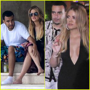Khloe Kardashian & French Montana Keep Cozy in Miami