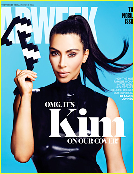 Kim Kardashian Covers 'Adweek': My Family Is a 'Normal Family'
