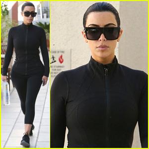 Kim Kardashian Says Goodbye to Blonde Hair, Back to Black!