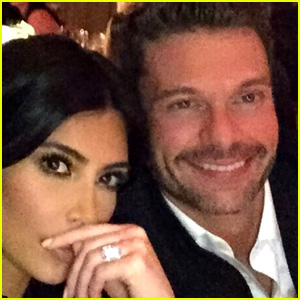 Kim Kardashian Celebrates Ryan Seacrest's Birthday in Napa
