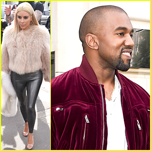 Kim Kardashian Professes Her Love For Kanye West in French