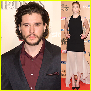 Kit Harington Premieres 'Game of Thrones Season 5' in London!