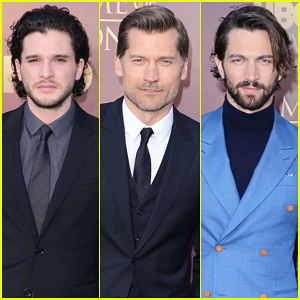 Kit Harington & Nikolaj Coster-Waldau Make It A Stud Fest at  'Game of Thrones' Season 5 San Francisco Premiere!