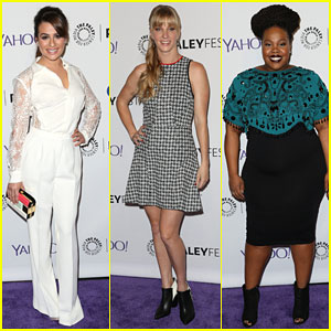 Lea Michele is Filled with 'Glee' at PaleyFest 2015!