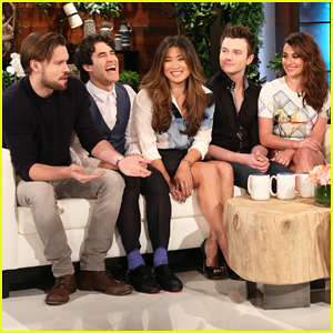 Lea Michele & 'Glee' Cast Talk Final Taping & Play Cards Against Humanity on 'Ellen' - Watch Here!