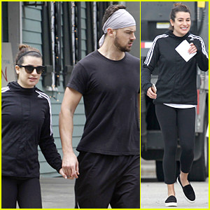 Lea Michele & Matthew Paetz Get Some Alone Time in New Orleans