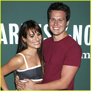 Lea Michele Sings 'Listen to Your Heart' with Jonathan Groff - Listen Now!
