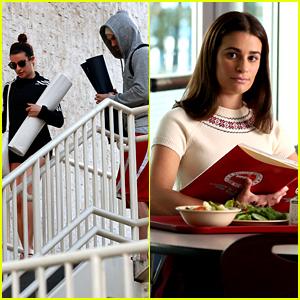 Lea Michele's Rachel Berry Has a Flashback in 'Glee' Finale
