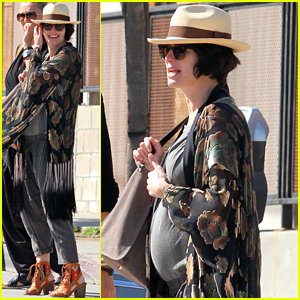 Lena Headey's Baby Bump Is Getting So Big!