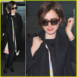 Lily Collins Takes Paris Fashion Week 'By Storm' & Shares Her Adventures With Fans