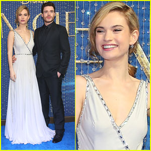 Lily James Says Her 'Cinderella' Corset Was 'Unpleasant'