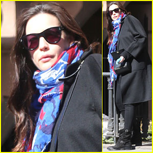 Liv Tyler Grabs Some Lunch After Visiting Her Newborn Baby