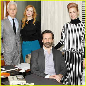'Mad Men' Cast & Crew Say Goodbye to the Show - Watch Now!