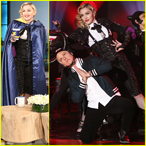 Madonna Talks Working with Kanye West & Performs 'Living For Love' on 'Ellen' - Watch Here!