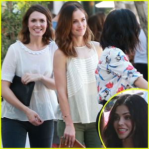 Mandy Moore, Minka Kelly, & Jenna Dewan Make it a Girls' Day!