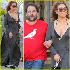 Mariah Carey & Brett Ratner Go Shopping Arm-in-Arm After Rep Denies Dating Rumors