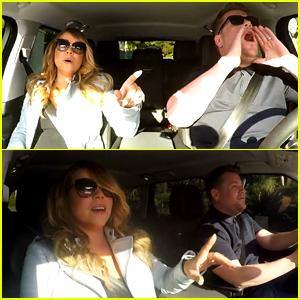 Mariah Carey Sings Her Classic Hits Karaoke Style During James Corden Carpool - Watch Now!