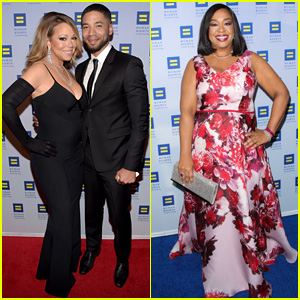 Mariah Carey Performs for Human Rights Campaign Gala Crowd