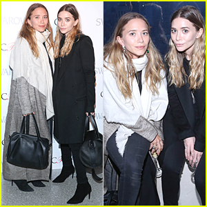 Mary-Kate & Ashley Olsen Are Perfect Nominees at CFDA Fashion Awards Party