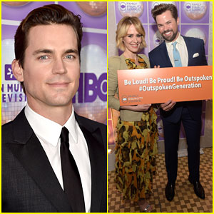 Matt Bomer & Sarah Paulson Bring Their Support to Equal Rights Dinner