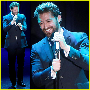 Matthew Morrison Hits The Stage at Vineyard Theatre Gala 2015!