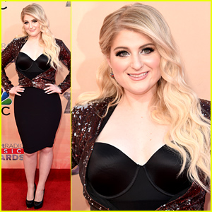 Meghan Trainor Rocks an LBD at the iHeartRadio Music Awards 2015