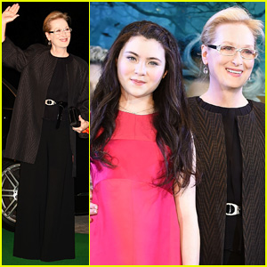 Meryl Streep Takes 'Into the Woods' to Japan for Big Premiere