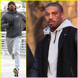 Michael B. Jordan's Fake Bruised Face Looks Real On 'Creed' Set
