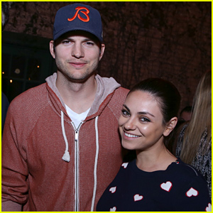 Mila Kunis Supports Ashton Kutcher At His SXSW Launch!
