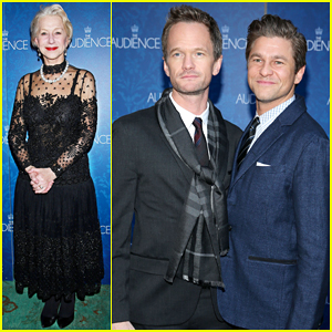 Neil Patrick Harris & Hubby David Burtka Support Helen Mirren at 'The Audience' Opening Night!