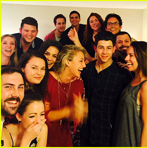 Nick Jonas Surprises Saucey Customers with Alcohol Delivery