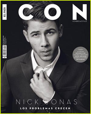 Nick Jonas Looks Like a Complete Icon on Magazine Cover