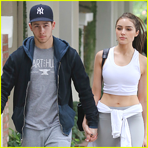 Nick Jonas' Girlfriend Olivia Culpo Puts Toned Tummy On Display