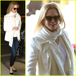 Nicole Kidman Hits LAX to Take Break From Filming 'The Secret in Their Eyes'!
