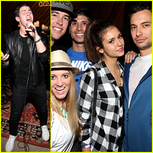 Nina Dobrev Watches Nick Jonas Perform at SXSW!