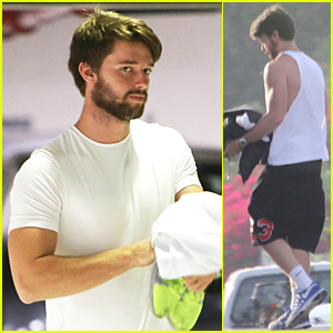 Patrick Schwarzenegger Hits Gym After Romantic Dinner With Miley Cyrus
