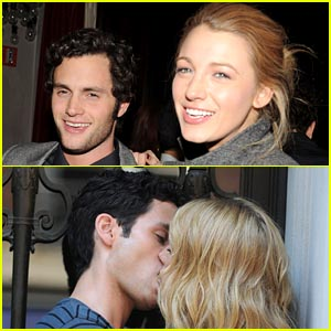 Penn Badgley Says Blake Lively Is His Best & Worst On-Screen Kiss - Watch Now!