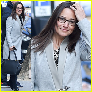 Pippa Middleton Makes a Rare Appearance in Eyeglasses